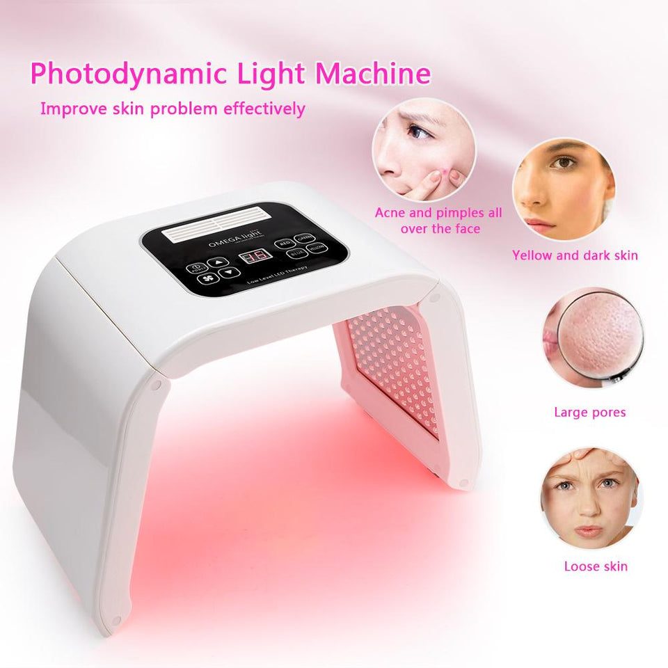 LED Facial Mask Rejuvenation Machine