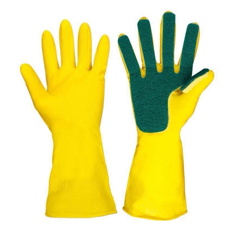 Dish-washing Sponge Gloves