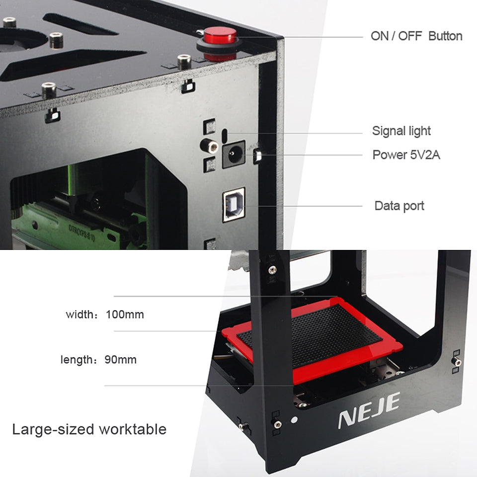 USB Laser Engraving Machine 2019
