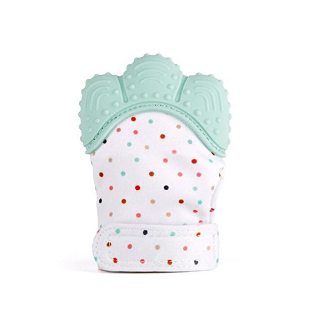 Silicone Teething Mitten/Glove