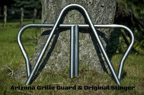 Arizona Grille Guard & Optional Stinger Kits