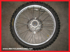 1996 Honda CR125 front wheel assembly