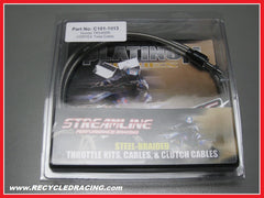 Streamline Vortex twist throttle cable Honda TRX450R