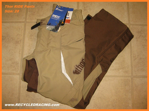 Thor Ride mx pants size 28