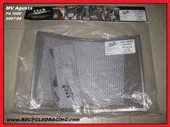 COX Racing Group MV Augusta F4 1000 Titanium rad radiator grill guard 07 08 09