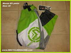 Moose M1 mx pants size 30