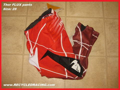 Thor Flux Lazer mx pants size 28