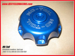 NO-TOIL hoseless aluminum fuel cap