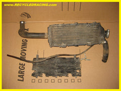 1989 Suzuki RM125 right side radiator