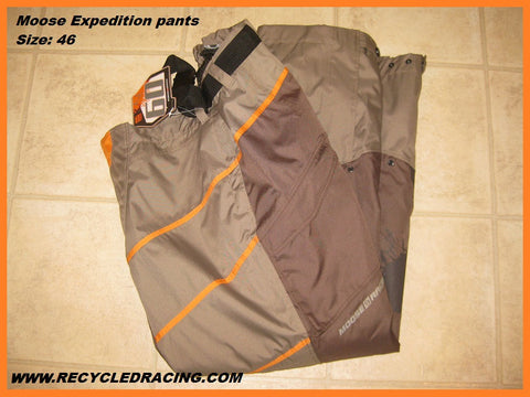 Moose Racing Expedition pants size 46