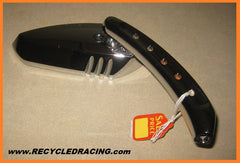 Chrome right side motorcycle mirror