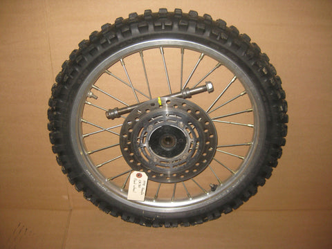 1998 Honda CR80 front wheel assembly