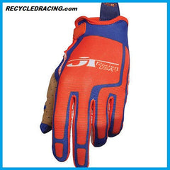 JT Racing orange Flex Feel gloves XXL