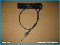 Eska twist throttle and cable 56212
