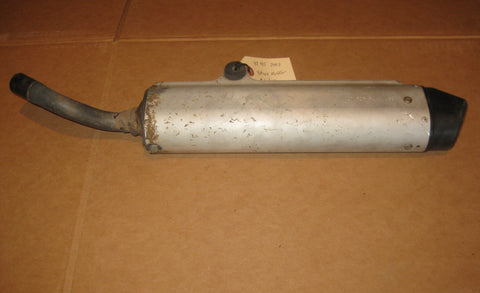 2002 Yamaha YZ85 stock silencer