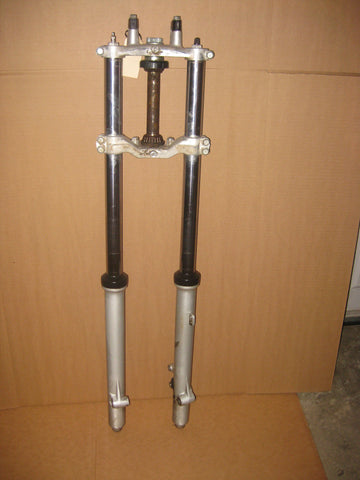 1986 Kawasaki KX80 fork assembly