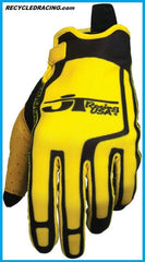 JT Racing yellow Flex Feel gloves XXL