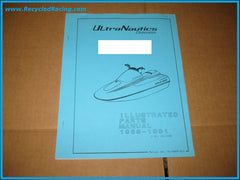 ultranautics seaflash pwc parts manual 89 91 recycled racing