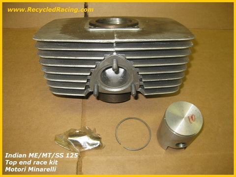 Indian MT ME SS 125 Motori Minarelli top end race cylinder