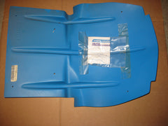Holeshot blue skid plate Polaris Evolved chassis