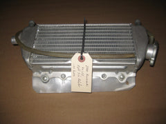2002 Kawasaki KX125 right side radiator