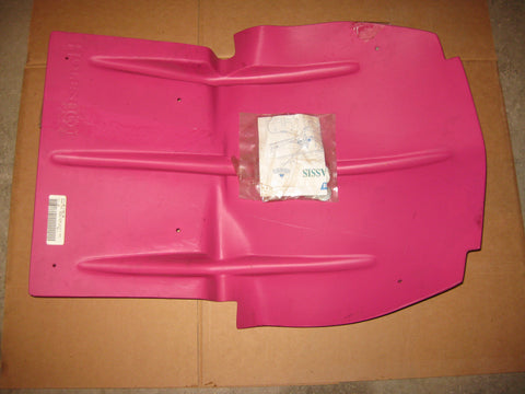 Holeshot skid plate Polaris Evolved Magenta