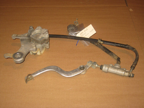 1998 Honda CR125 rear brake assembly