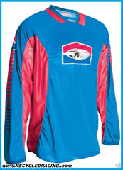 JT Racing MX jersey Medium Blue/Red