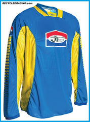 JT Racing MX jersey Medium Blue/Yellow