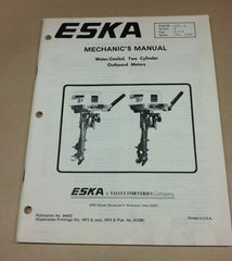 Eska mechanics manual water cooled 2 cylinder