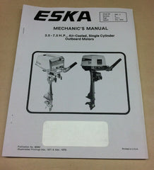 Eska mechanics manual air cooled 3.0 to 7.5 HP