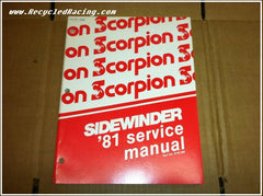 1981 Scorpion Sidewinder 440 service manual