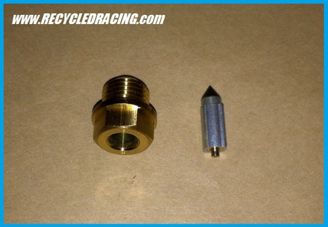 Ultranautics Wetbike needle valve assembly