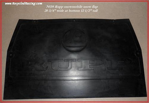 Rupp NOS snowmobile snow flap