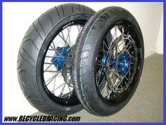 "Warp 9 17"" Super Motard wheel set YZ450F"