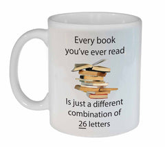 Every Book You've Ever Read Librarian Mug
