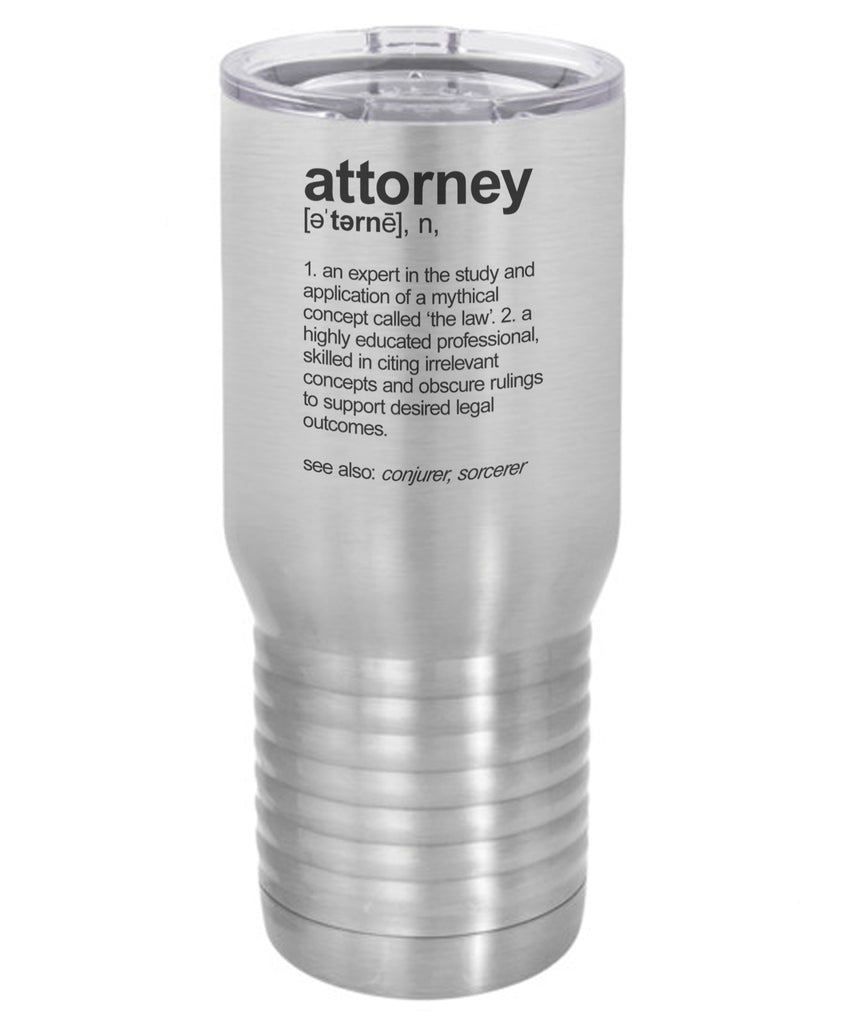 Silver Attorney Definition 20 Oz Polar Camel Travel Mug