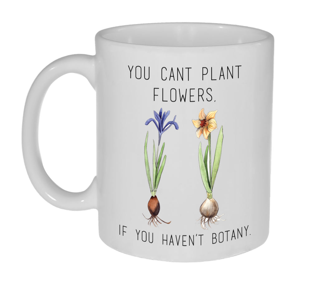 Funny Plant and Botany Coffee or Tea Mug