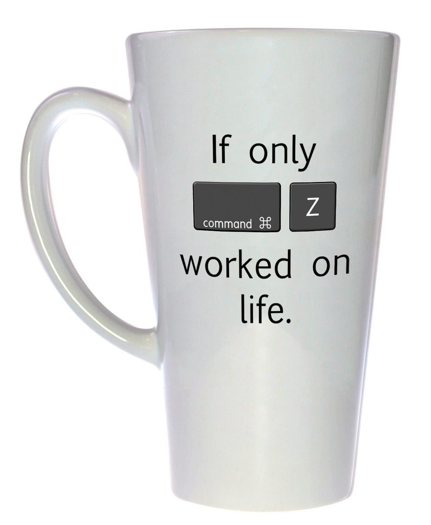 Command Z Coffee or Tea  Mug, Latte Size