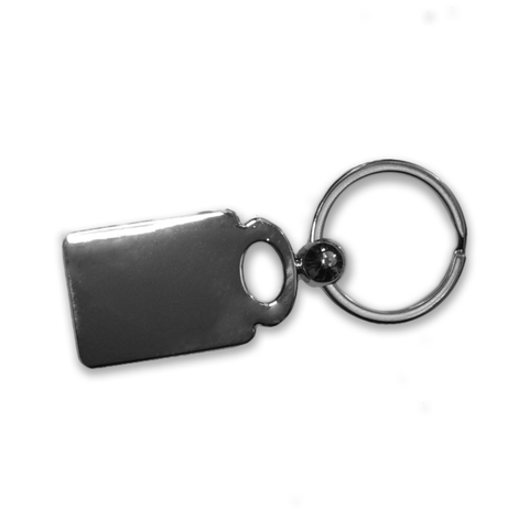 Here They Are Google GPS Drop Pin Metal Key Chain