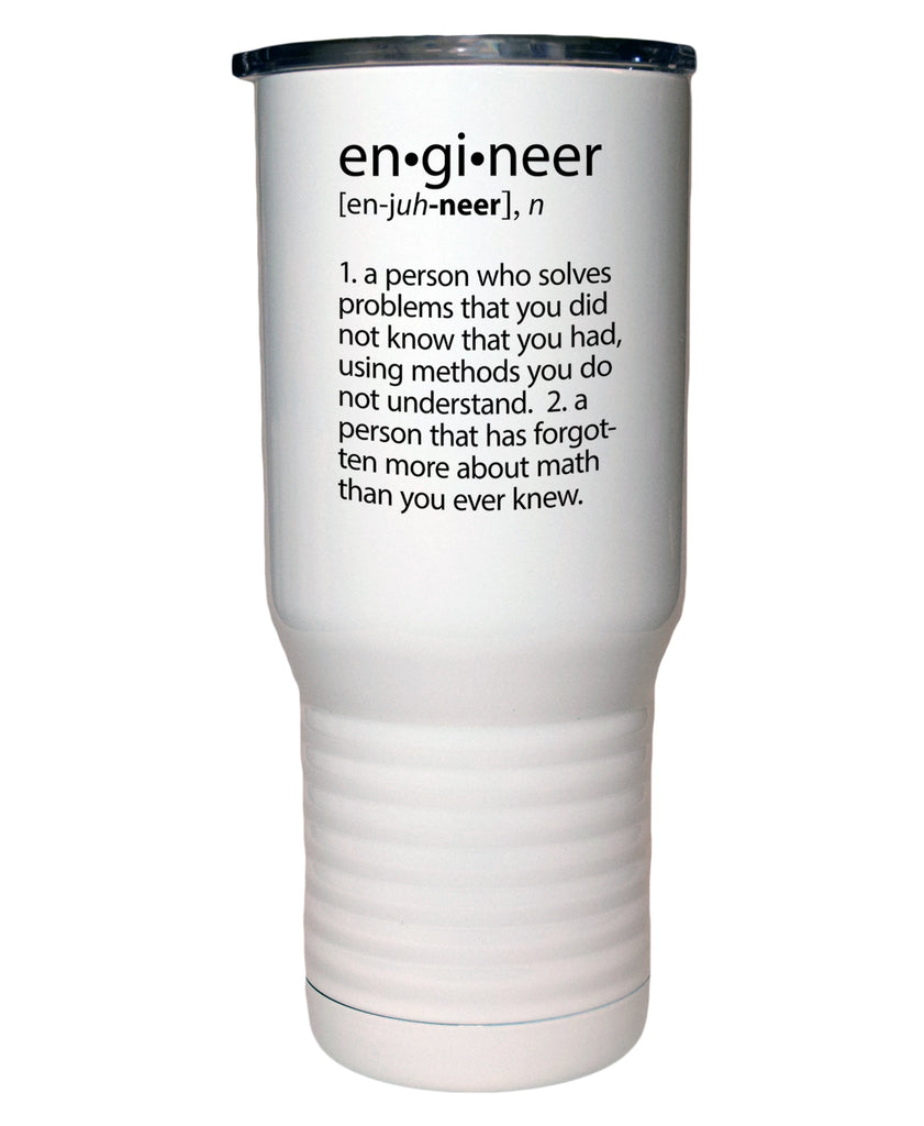 Engineer Definition 20 Oz Polar Camel White Travel Mug
