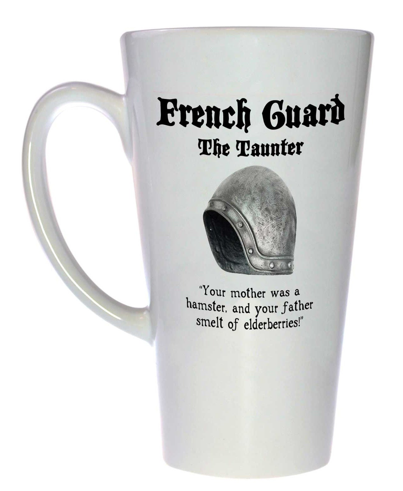 French Guard Monty Python and the Holy Grail Latte Size