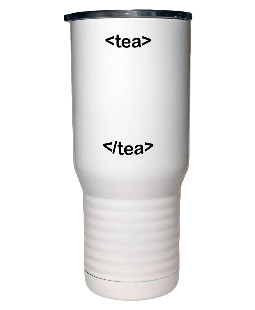 HTML Tea 20 Oz Polar Camel White Travel Mug