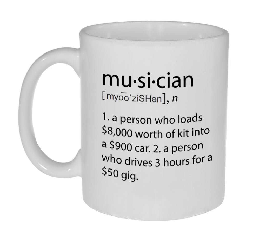 Musician Definition Coffee or Tea Mug