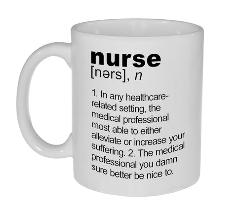Nurse Definition Coffee or Tea Mug
