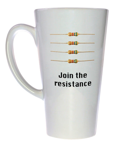 Join the Resistance Coffee or Tea Mug, Latte Size