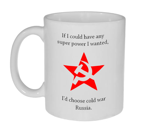 Super Power Funny Coffee or Tea Mug