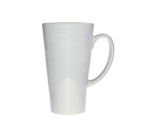 Retro I Drink Coffee For Your Protection Coffee Mug, Latte Size