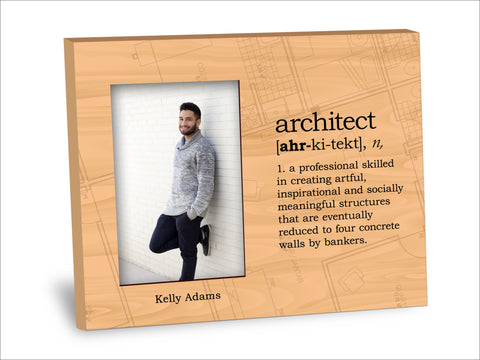 Architect Definition Picture Frame