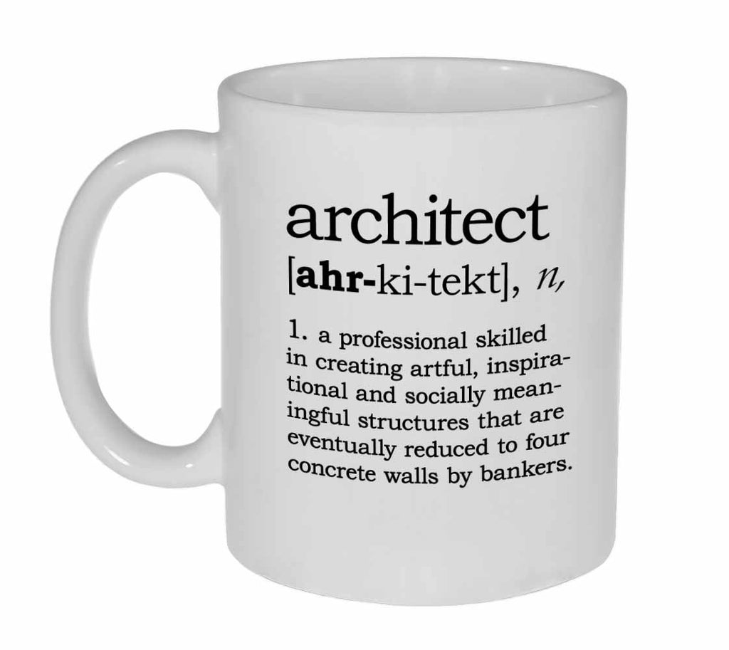 Architect Definition Coffee or Tea Mug